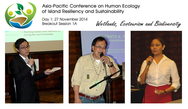 Asia-Pacific Conference on Human Ecology of Island Resiliency and Sustainability