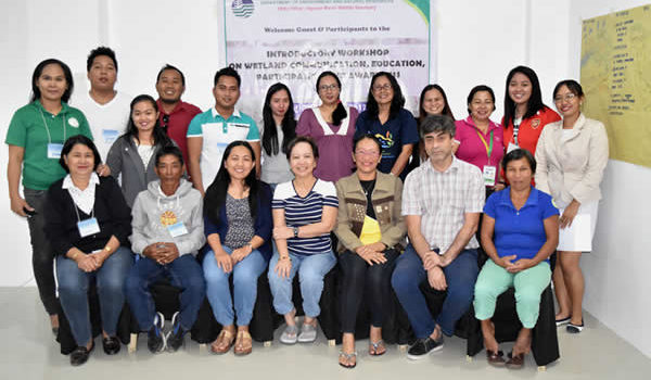 SCPW was at Agusan Marsh Wildlife Sanctuary (AMWS) Introductory CEPA Workshop