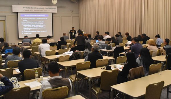 SCPW attends 6th Wetland Link International – Asia Conference in Saga City, Japan