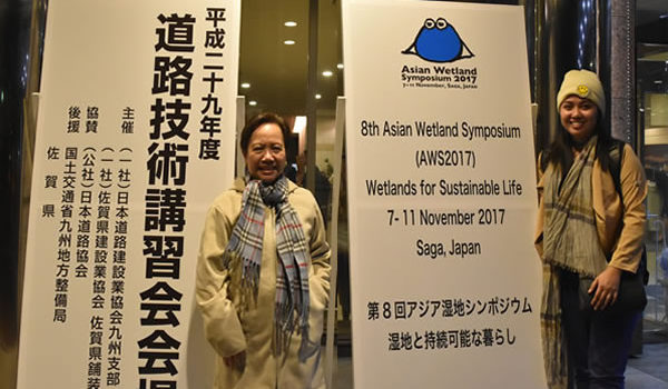 SCPW was at the Asian Wetlands Symposium 2017 at Saga City, Japan