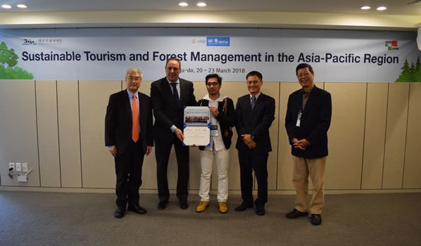 SCPW was at the Training/Workshop on Sustainable Tourism and Forest Management in the Asia-Pacific Region at Jeju