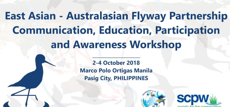 SCPW hosts EAAFP – CEPA* Working Group Workshop on Migratory Birds and Flyway Sites