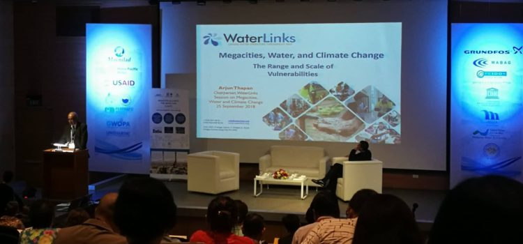 SCPW attends the Waterlinks Forum 2018