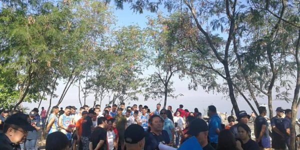 Stakeholders and participants at the Las Piñas Parañaque Wetland Park