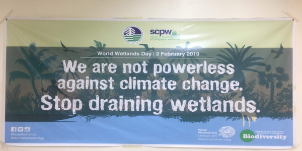 Official Banner of the Philippine World Wetlands Day 2019