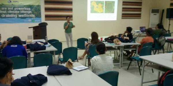 (Amy Lecciones) Briefing on the birding site: paligui wetland project of SCPW supported by Ramsar Regional Center – East Asia