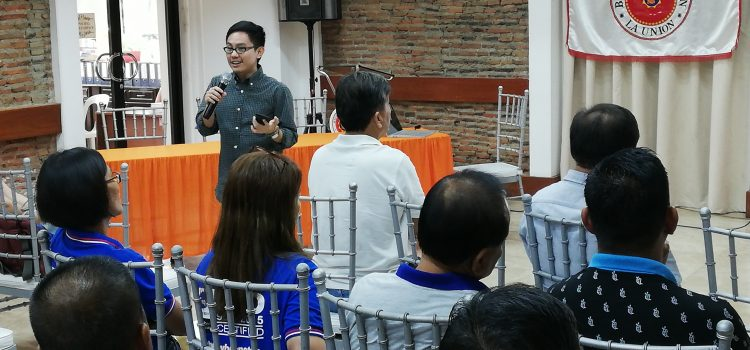 Presentation of Draft Tourism Master Development Plan at Bacnotan, La Union