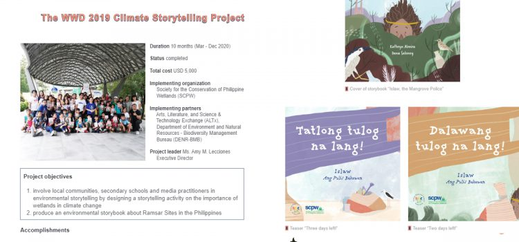 SCPW's Storytelling Sessions at the LPPWP featured on the RRC-EA Webzine