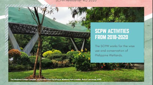Inaugural Issue of SCPW Newsletter – Philippine Wetlands is out!