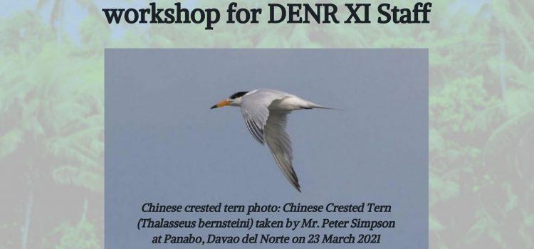 ACB supports SCPW Shorebird Identification Workshop for DENR XI Staff